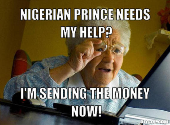 Is Jesus a Nigerian Prince?